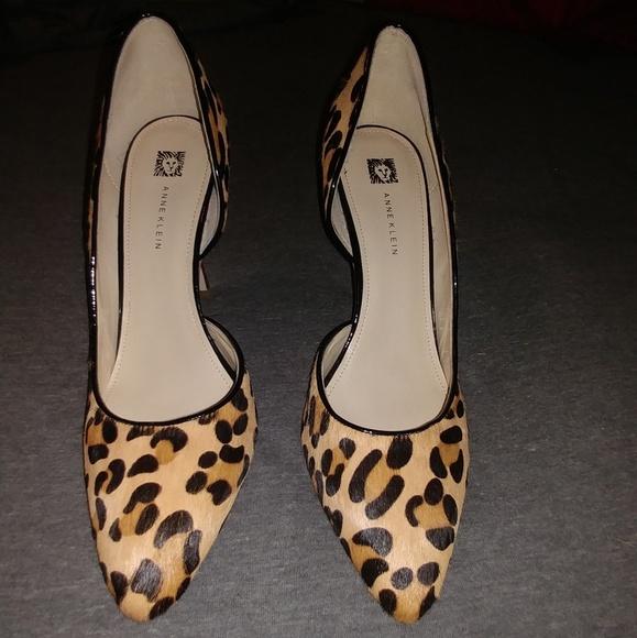 anne klein animal print shoes